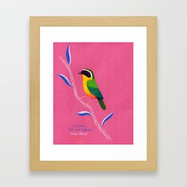 Common Yellowthroat Framed Art Print
