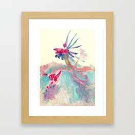 Along the Ridge Framed Art Print