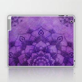 Deep Purple Lotus Mandala Laptop & iPad Skin
