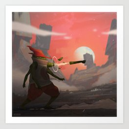 Jacobo the Limb Wizard Art Print
