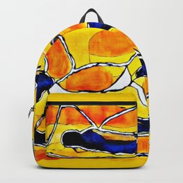 The Sun Also Rises. Society6. Watercolor. Abstract. Backpack