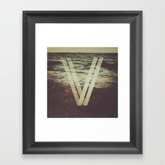 Undercurrent Framed Art Print