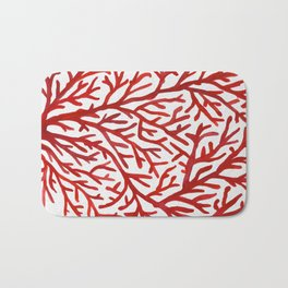 Red Coral Bath Mat