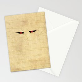 """""""Mummy"""" Halloween Poster Stationery Cards"""