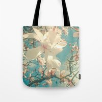 once upon a  time Tote Bags featuring Once Upon a Time by Cassia Beck