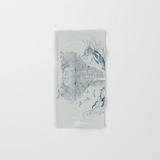 THE OCEAN SPIRIT Hand & Bath Towel