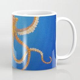 Octopus, Oil Painting by Faye Coffee Mug