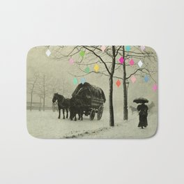 Christmas Day Bath Mat
