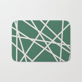Emerald Lines Bath Mat