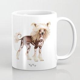 Chinese crested (naked) dog Coffee Mug