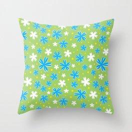 Petal Power Throw Pillow