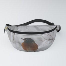 Surpised by the snow Fanny Pack
