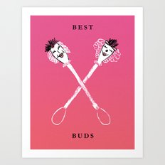 Best Buds II Art Print