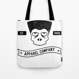Flattop skull Tote Bag