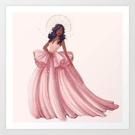 Belle of the Ball - Sza Art Print