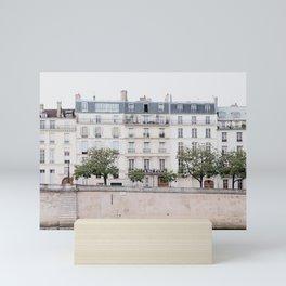 Seine River - Paris France, Architecture, Travel Photography Mini Art Print
