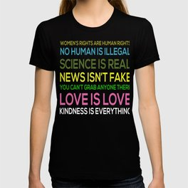 Science Is Real News Isnt Fake T-shirt