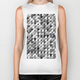 3105 Mosaic pattern #1 Biker Tank