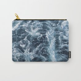 Sea Blue Wake - Pacific Ocean Carry-All Pouch