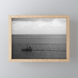 Heading Home with the Catch Framed Mini Art Print