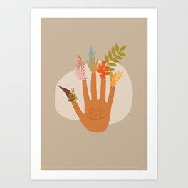 The Hand of Nature Art Print