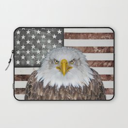 American Bald Eagle Patriot Laptop Sleeve