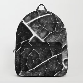 LEAF STRUCTURE no2a BLACK AND WHITE Backpack