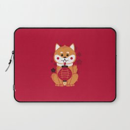 Happy Dog Year Laptop Sleeve