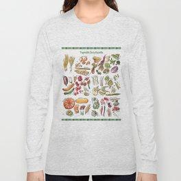 Vegetable Encyclopedia Long Sleeve T-shirt