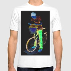Turista II Mens Fitted Tee White SMALL