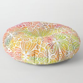 DP050-9 Colorful Moroccan pattern Floor Pillow