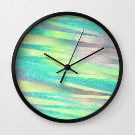 Last May Sunset  Wall Clock