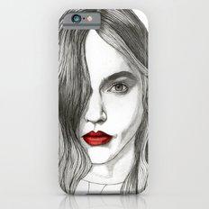 Sasha with Red Lips iPhone 6s Slim Case