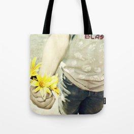 Grandmas Flowers Tote Bag