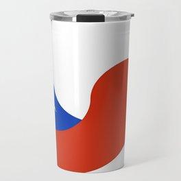 Flag of Chile 3 -Spanish,Chile,chilean,chileno,chilena,Santiago,Valparaiso,Andes,Neruda. Travel Mug