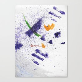 Watercolor Mania Canvas Print