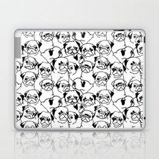Oh Pugs Laptop & iPad Skin