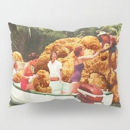 Fried chicken drive-thru Pillow Sham