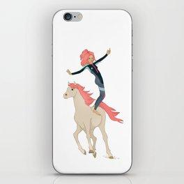 Surf Horse iPhone Skin