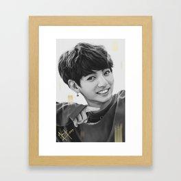 Bunny Kookie Framed Art Print