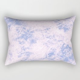 Pink and blue abstract pattern Rectangular Pillow
