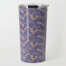 Orange Glasses Travel Mug