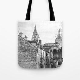 Sacre Coeur view Montmartre Paris Tote Bag