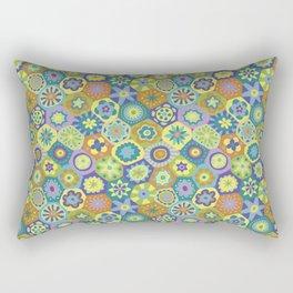 Millefiori-Jardin Colors Rectangular Pillow