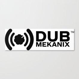 Dub Mekanix Logo Canvas Print