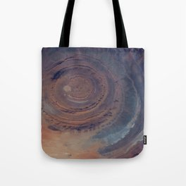 eye in the sky, eye in the desert | space #01 Tote Bag