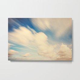 30 second Cloudscape Long Exposure Metal Print