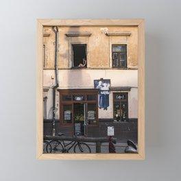 Užupis Framed Mini Art Print