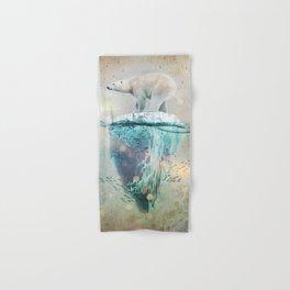 Polar Bear Adrift Hand & Bath Towel