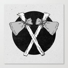 Axes Canvas Print